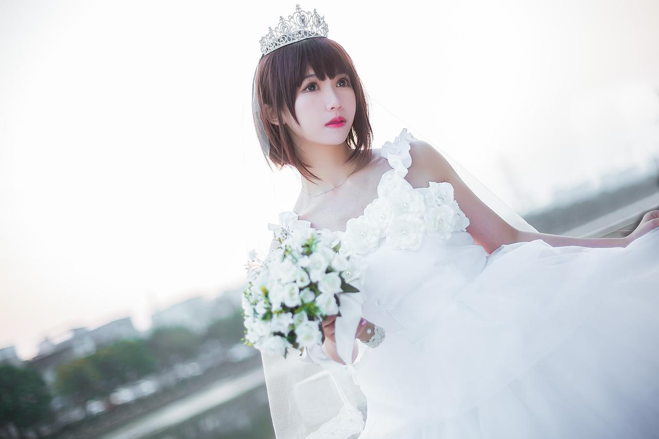 NO.043 Kato Megumi – Wedding03